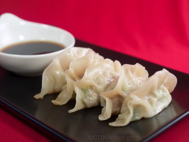 A dumpling platter
