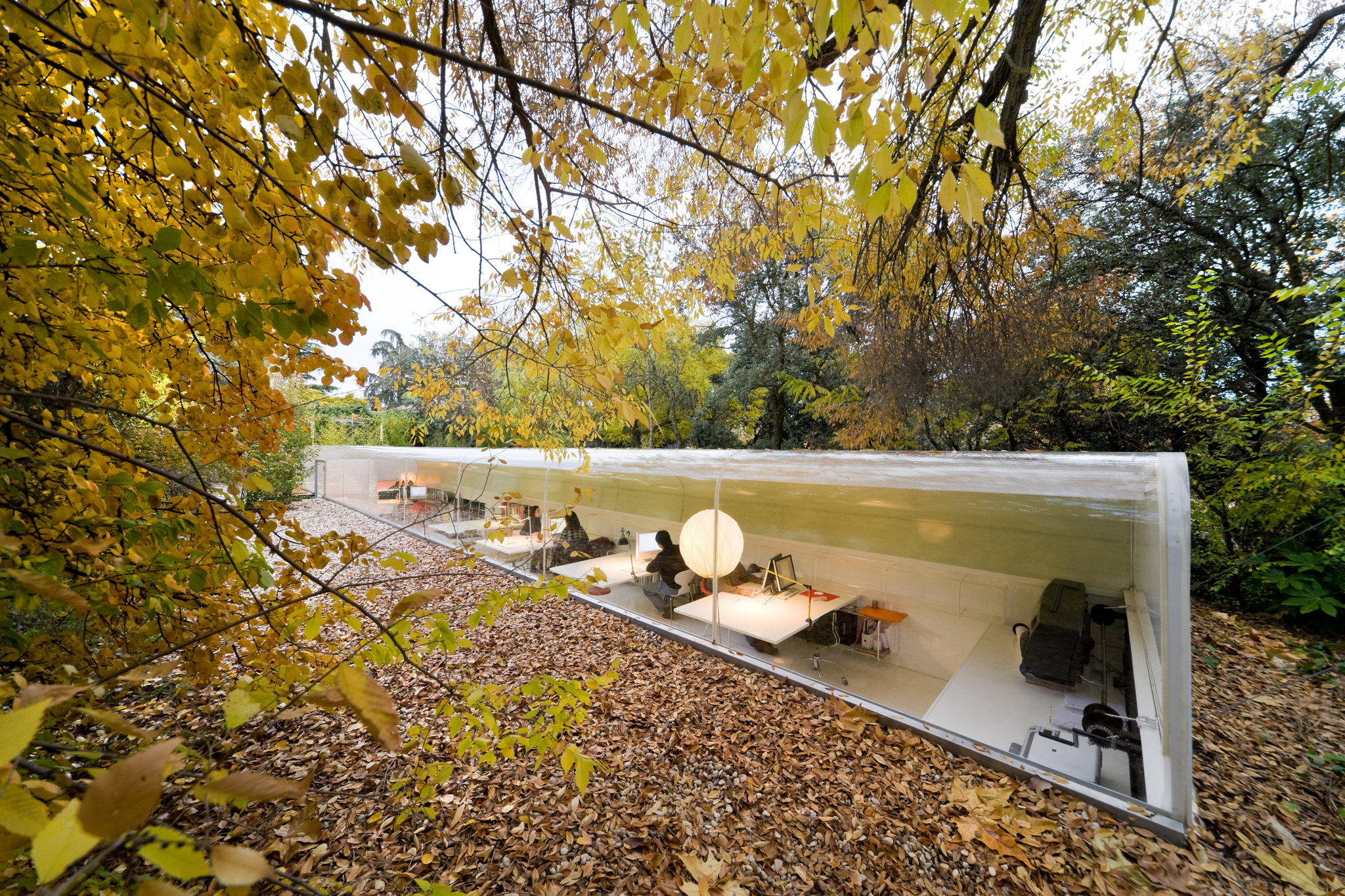 Selgas Cano Architecture – In The Woods 15 Minutes Outside Of Madrid Spain.