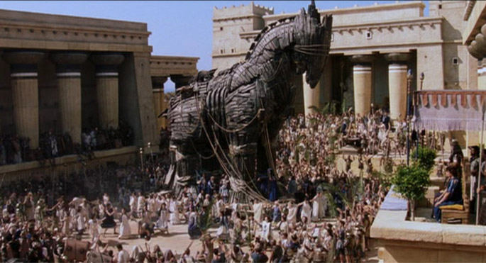 According To The Poem Which Greek Hero Was Responsible For Creating The Proverbial Trojan Horse