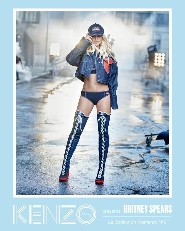 KENZO Presents Britney Spears