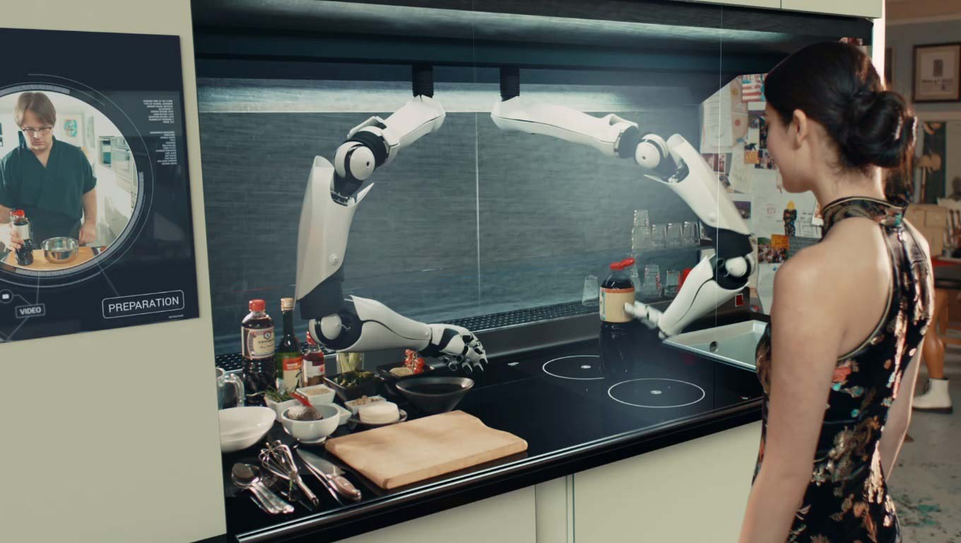 A Robot To Help You Cook?