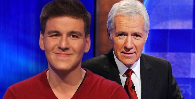 Jeopardy James And Alex Trebek