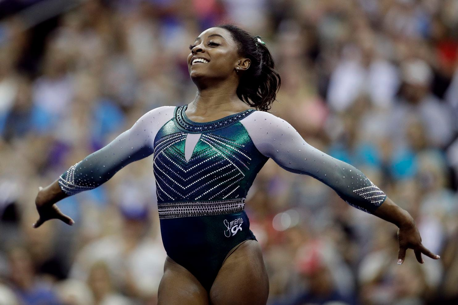 Simone Biles Makes Gymnastics History