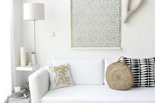 amusing plain white living room | These Are The Tackiest Living Room Decor Mistakes ...