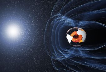 The Magnetic Field Spans From Earth To Outer Space