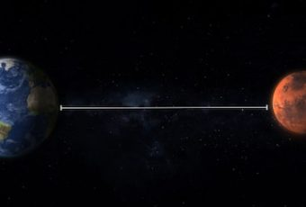 The Distance Between The Two Is Constantly Changing Due To Orbit