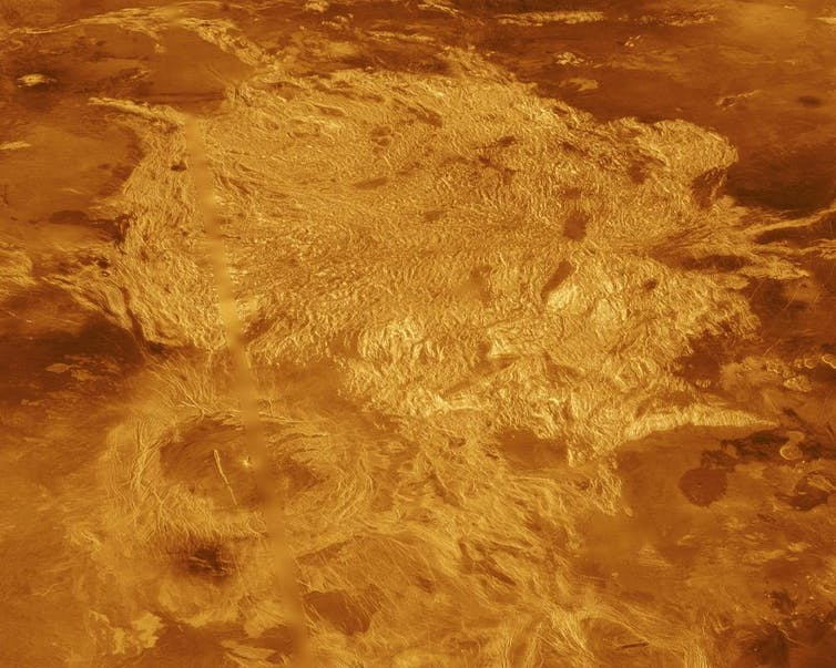 Surface Land On Venus